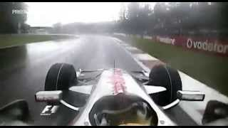 F1 Monza 2008 Lewis Hamilton McLaren Mercedes MP4/23