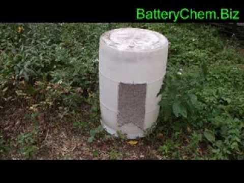 How to build a tick killing machine using free recycled materials by Walt Barrett
