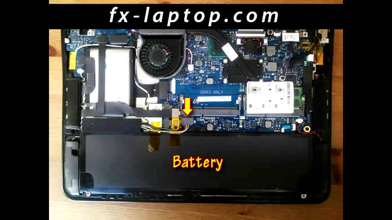 Disassembly Samsung 900X