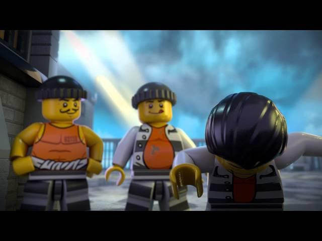 The Escape from Prison Island - LEGO City - Mini movie
