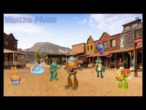 Tumbleweed Island - Fanmade Island (Instrumental Ver.) - My Singing Monsters {Uraldo Music}
