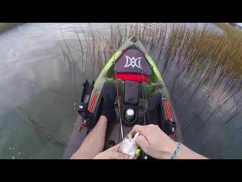 Kayak Fishing For Speckled Trout In Wilmington, NC