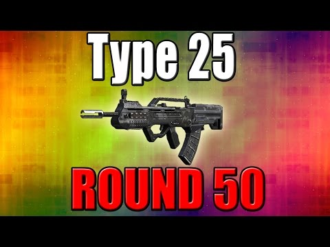 Type 25 on Round 50 - Call of Duty Zombies - 동영상