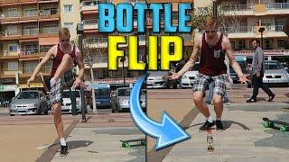 Bottle Flip Challenge Espanjassa! feat. Miklu