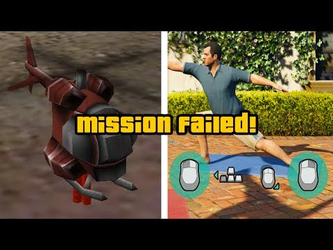 WORST MISSIONS In The Grand Theft Auto Series!