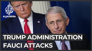 Trump administration distances itself from latest attack on Fauci