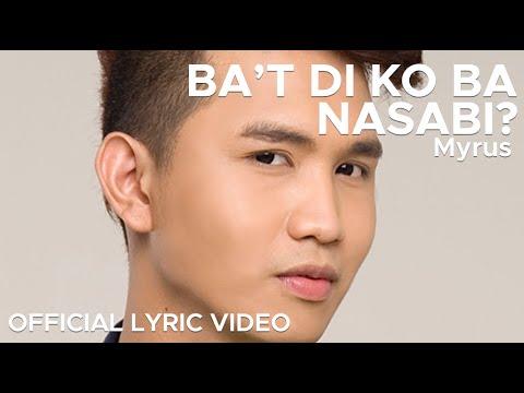 BA'T DI KO BA NASABI by Myrus (Official Lyric Video)