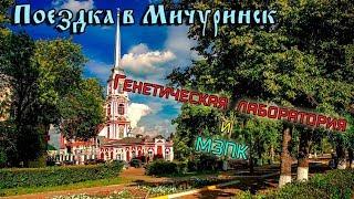 Поездка в Мичуринск | заброшенная генетическая лаборатория, МЗПК