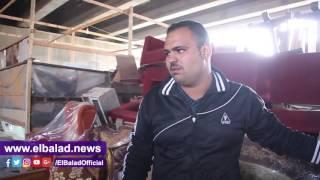 الحزن يخيم على الباعة فى أول 'جمعة ' بعد حريق سوق التونسى:'بيوتنا اتخربت '.. فيديو وصور
