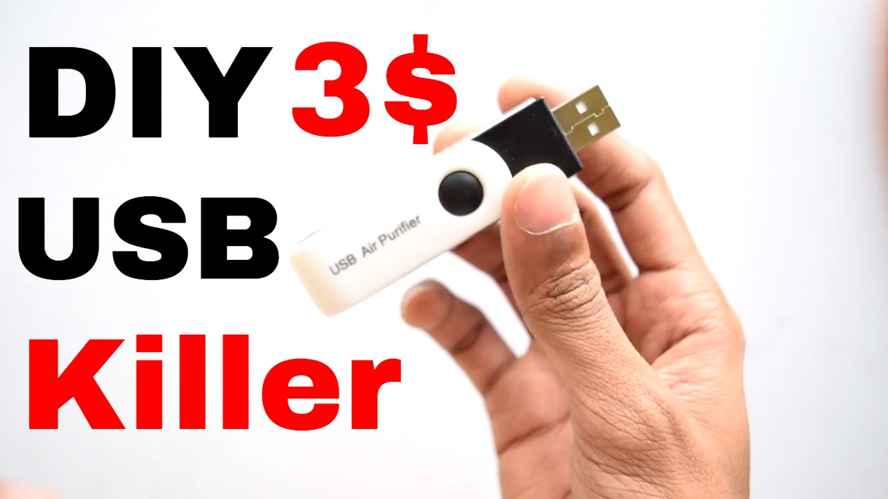 How To Make USB Killer : DIY in 3$ - YouTube