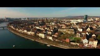Luftaufnahme Basel-Stadt 2016 DJI Phantom 4