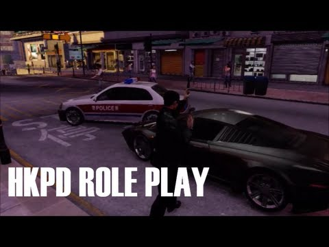 Sleeping Dogs ROLE PLAY:POLICE: HKPD patrol #1