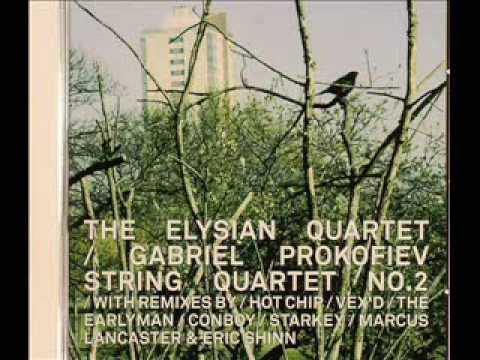 The Elysian Quartet - Gabriel Prokofiev String Quartet No. 2 (Vex'd Remix)