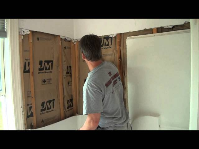 Tear Out A Fiberglass Tub And Shower, Removing Fiberglass Tub And Shower