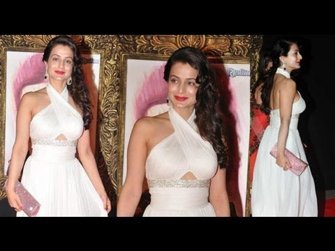 Amisha Patel in tight Cross strap Gown thumbnail