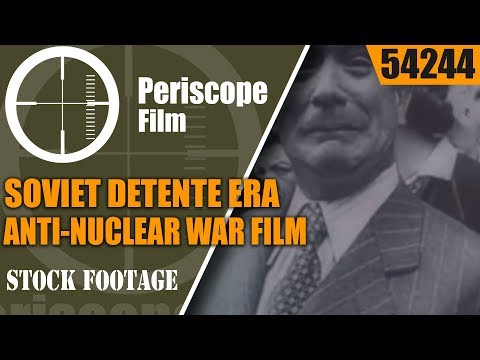 "SOVIET DETENTE ERA ANTI-NUCLEAR WAR FILM ""SAVE OUR PLANET, THE EARTH"" 54244"