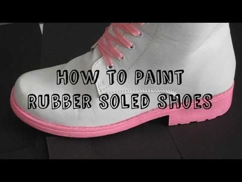 how-to-paint-rubber-soled-shoes