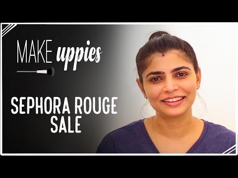 Sephora Rouge Sale   Make-Uppies