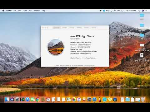 How To Update To Newest Mac OS High Sierra From Older Mac Pro With Lion X