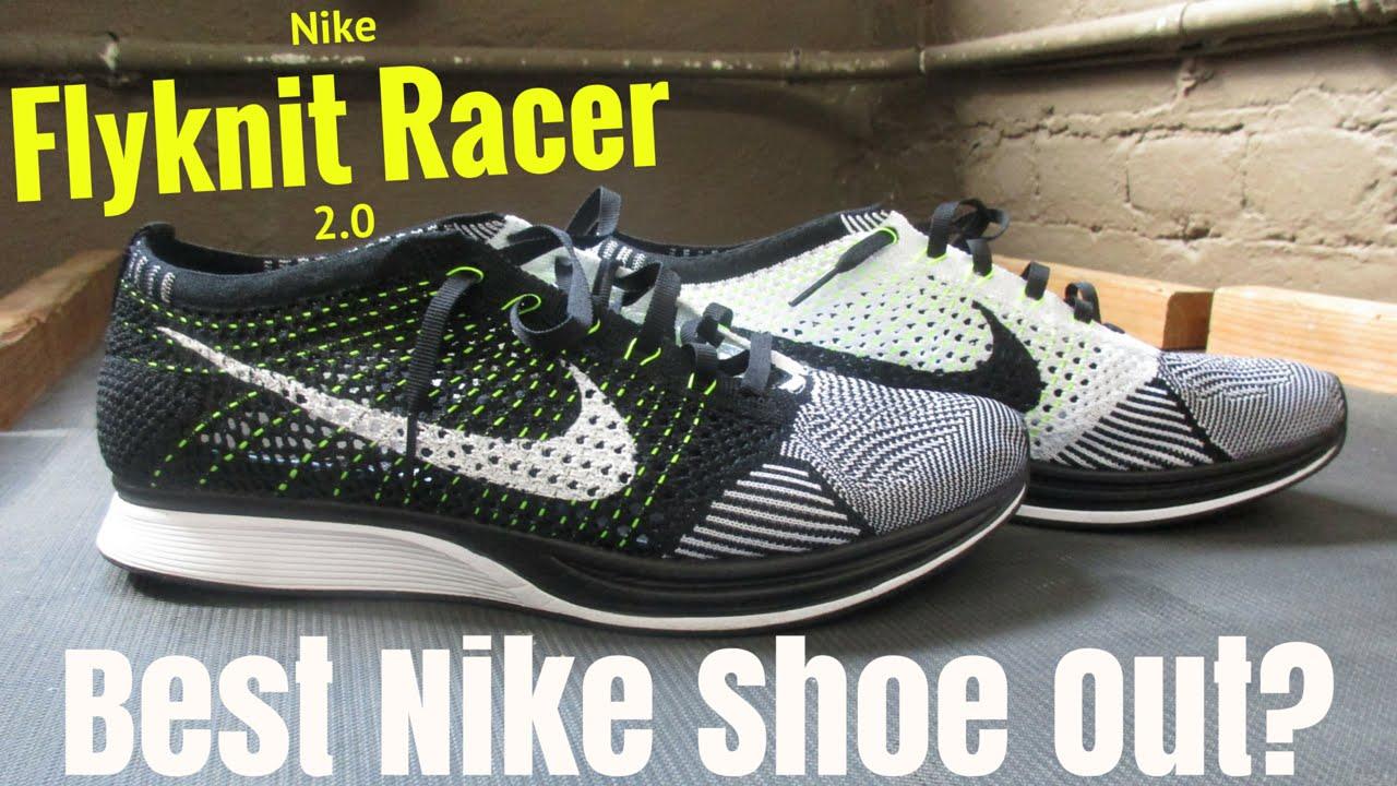 3fccd1ded058 Nike Flyknit Racer 2.0 Shoe Review - YouTube