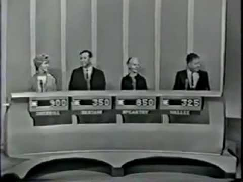 The Price Is Right with guest host Johnny Gilbert 6/19/64 part 1