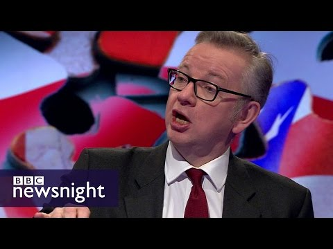 Michael Gove on Brexit, the customs union and Donald Trump - BBC Newsnight