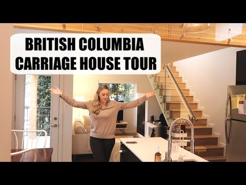 Our Carriage House Tour | Tiny Home in British Columbia, Canada