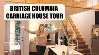 Our Carriage House Tour   Tiny Home In British Columbia, Canada