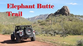Elephant Butte Trail, Queen Valley, AZ