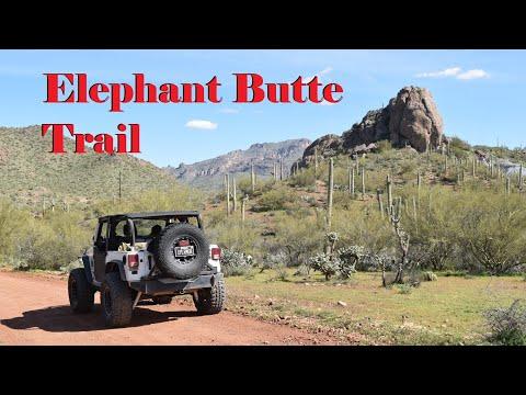 Elephant Butte Trail, Queen Valley, AZ