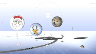 Wow Such Bounce! - Bouncing Doge, With Sleighbells, Santa, & Reindeer - Bounce Metronome Pro