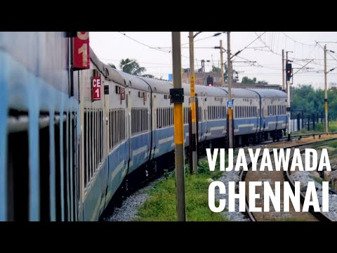 VIJAYAWADA to CHENNAI : The Short Swift Jan Shatabdi Express : Circular Trip Part 4 [Full HD]