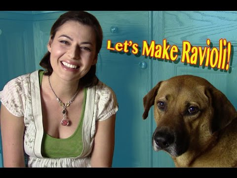 Homemade Ravioli ASMR-style, featuring my dog JACK!