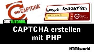 PHP Tutorial: CAPTCHA erstellen mit PHP // reCAPTCHA // deutsch Mp3