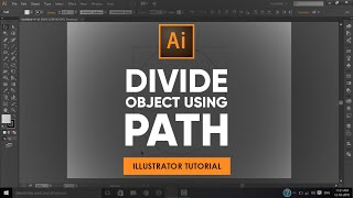 Divide an Object Using a Path | Adobe Illustrator Tutorial