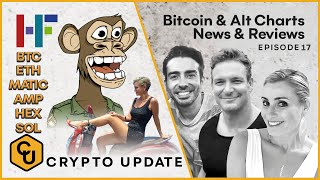 Technical analysis $BTC $ETH $MATIC $HEX $AMP $SOL How we are investing in NFTs & the gaming sector