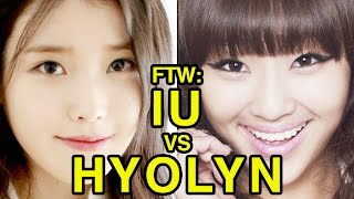 For The Win: IU vs Hyolyn