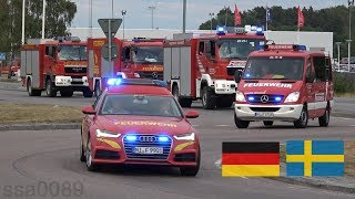 Tyska brandbilar i Sverige SE | 7.2018