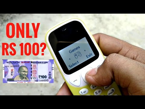 Cheapest Phone In The World | This Phone Costs Rs 100 only || i Kall - k 74