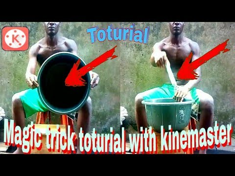 Magic trick with kinemaster toturial after effect