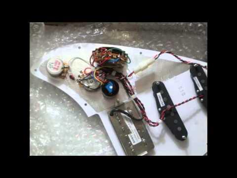 Strat Guitar Wiring Diagram Hss With 1 Volume 1 Tone 5 Way Switch Guitar Scheme Youtube