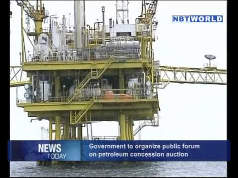 Government to Organize Public Forum on Petroleum Concession Auction