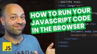 Link JavaScript to HTML: How to run your JavaScript code in the browser
