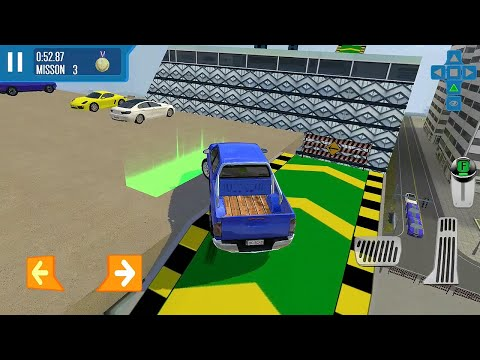 City Driver Roof Car Parking Challenge Simulator Android Gameplay HD