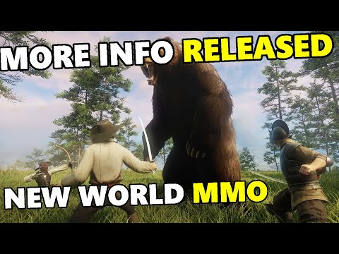 Amazon's NEW WORLD MMO - Class System, Player Feedback, Map Size & More! - Press Details