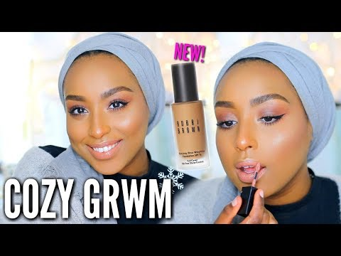 Chit Chat GRWM | COZY Winter Makeup + NEW Bobbi Brown Foundation! | Aysha Abdul