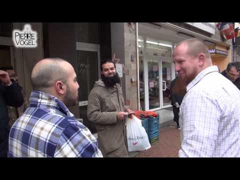 Pierre Vogel: Street Dawah Dortmund (14.02.2014)