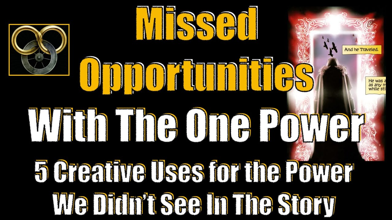 Missed Opportunities With The One Power! - A Wheel of Time Deep Dive