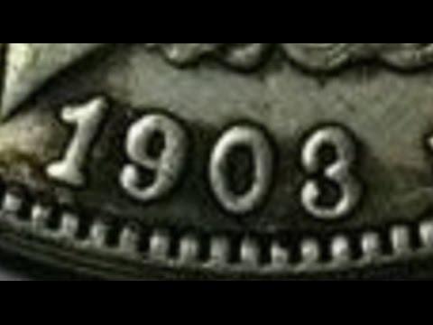 Fake 1903-O Morgan Silver Dollar On EBay