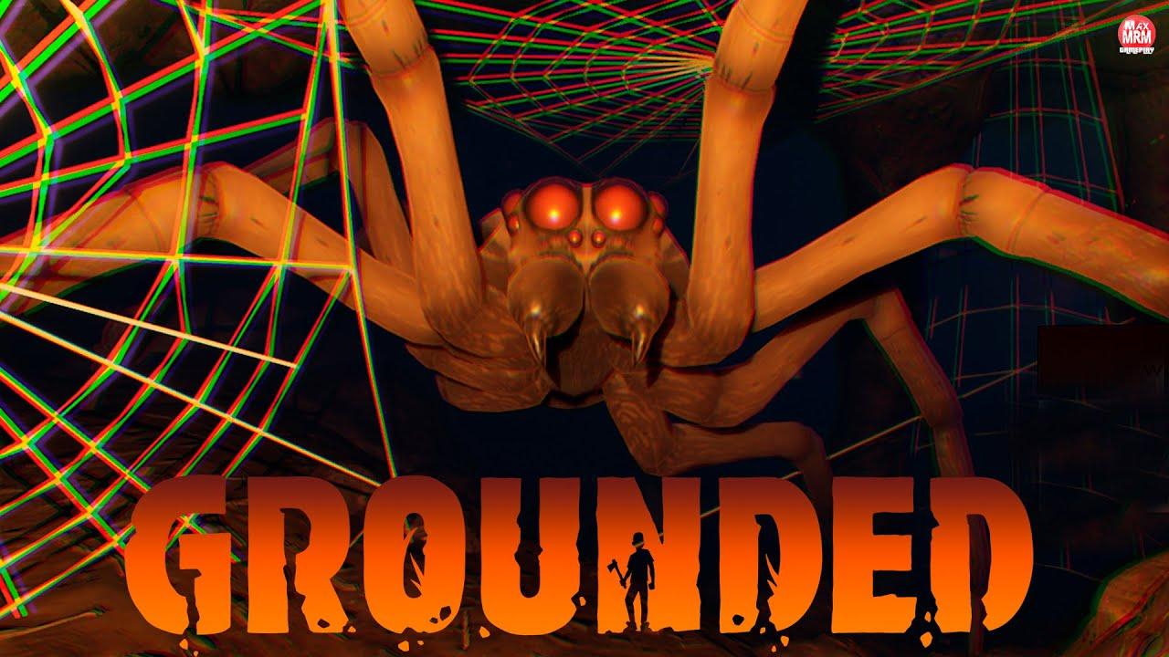 GROUNDED - MATAND0 A MAIOR ARANHA DO JOGO, com a MELHOR ARM4 NÍVEL 3